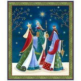 The Three Wise Men Fabric Panel